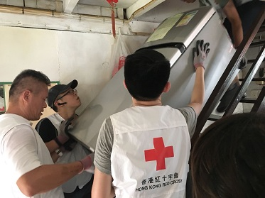 Thumbnail Thank you for your effort on helping the Typhoon Mangkhut affected citizens